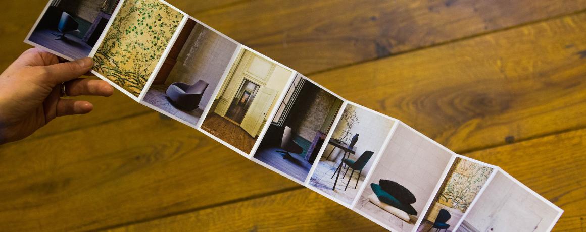interessante vormen brochures of folders
