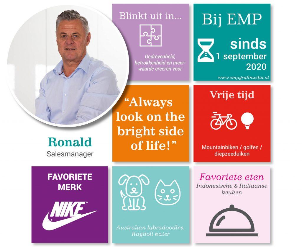 Nieuws Ronald Zwaan - Salesmanager