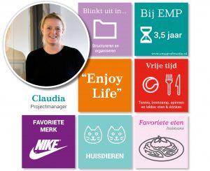Nieuws Claudia Golsteijn - Projectmanager